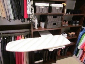 Extended Ironing Board Drawer