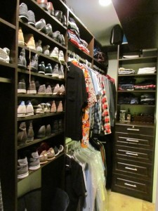 Loft Closet Shoe Storage