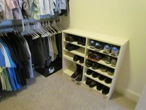 Low Shoe Shelves