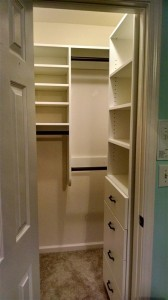 Drawers on the Right