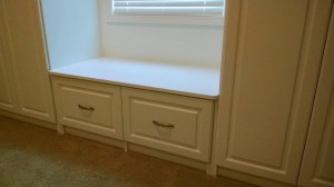 Narrow Window Seat Detail